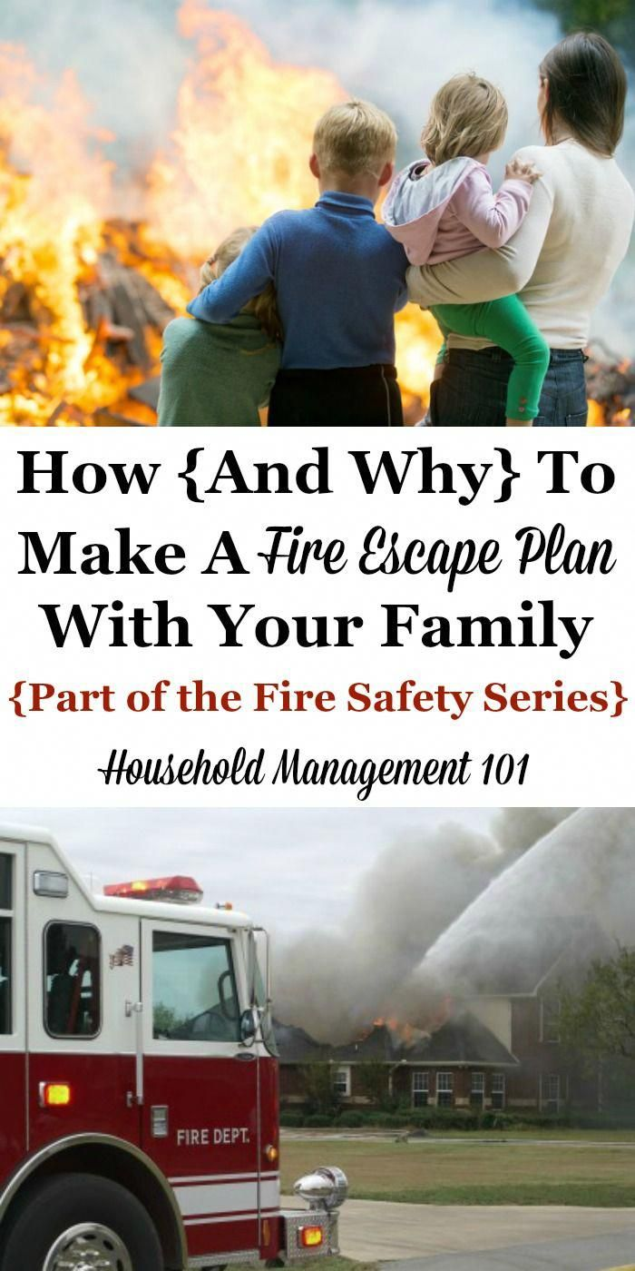 How and why to make a fire escape plan with your family