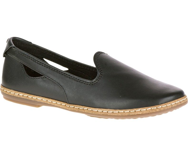 Black Hush Puppies Women'S Leather Sebeka Piper