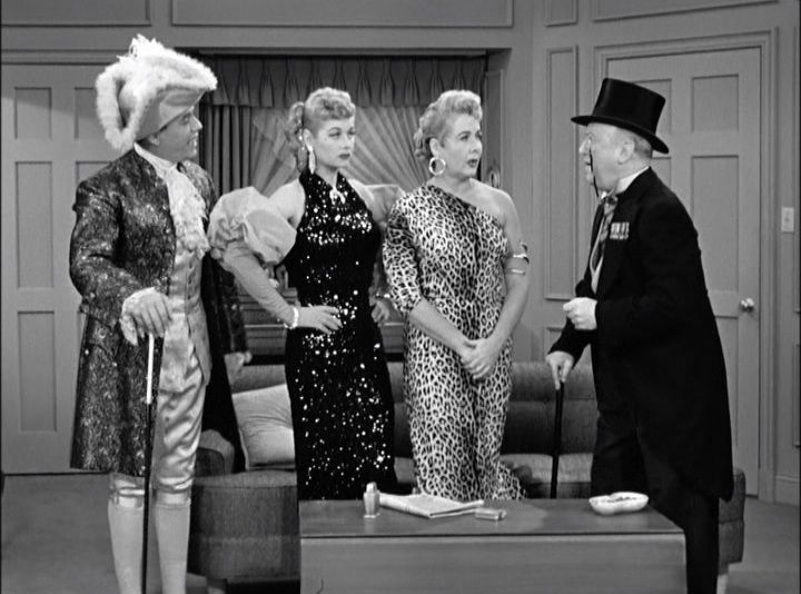 """Lucy and Ethel go to charm school, but the boys aren't having it.... """"I  Love Lucy,"""" Season 3, airs Jan 25, 1954 