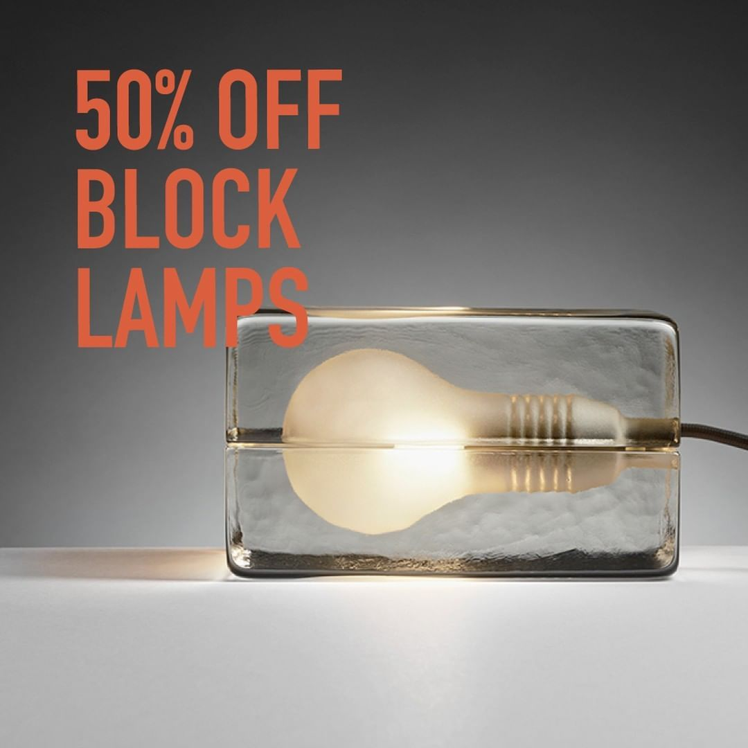 The Iconic Design House Stockholm Block Lamp Is Now 50 Off During Our Mid Year Sale Vincent Des Icon Design Design Supplies House Design