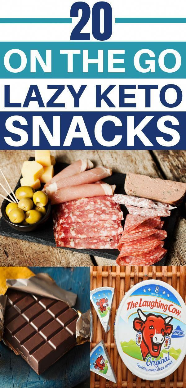20 Easy Low Carb Snacks (Keto Snacks) On the Go images