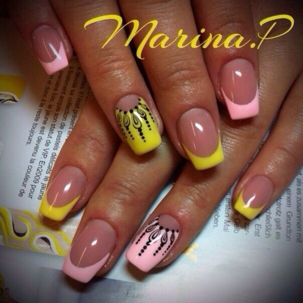 Pin By Irina Laskova On Lunghia Pinterest 30th Pink Nails And