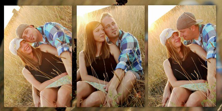 North West Arkanas/ Couples Shots/ Fields/Sunset