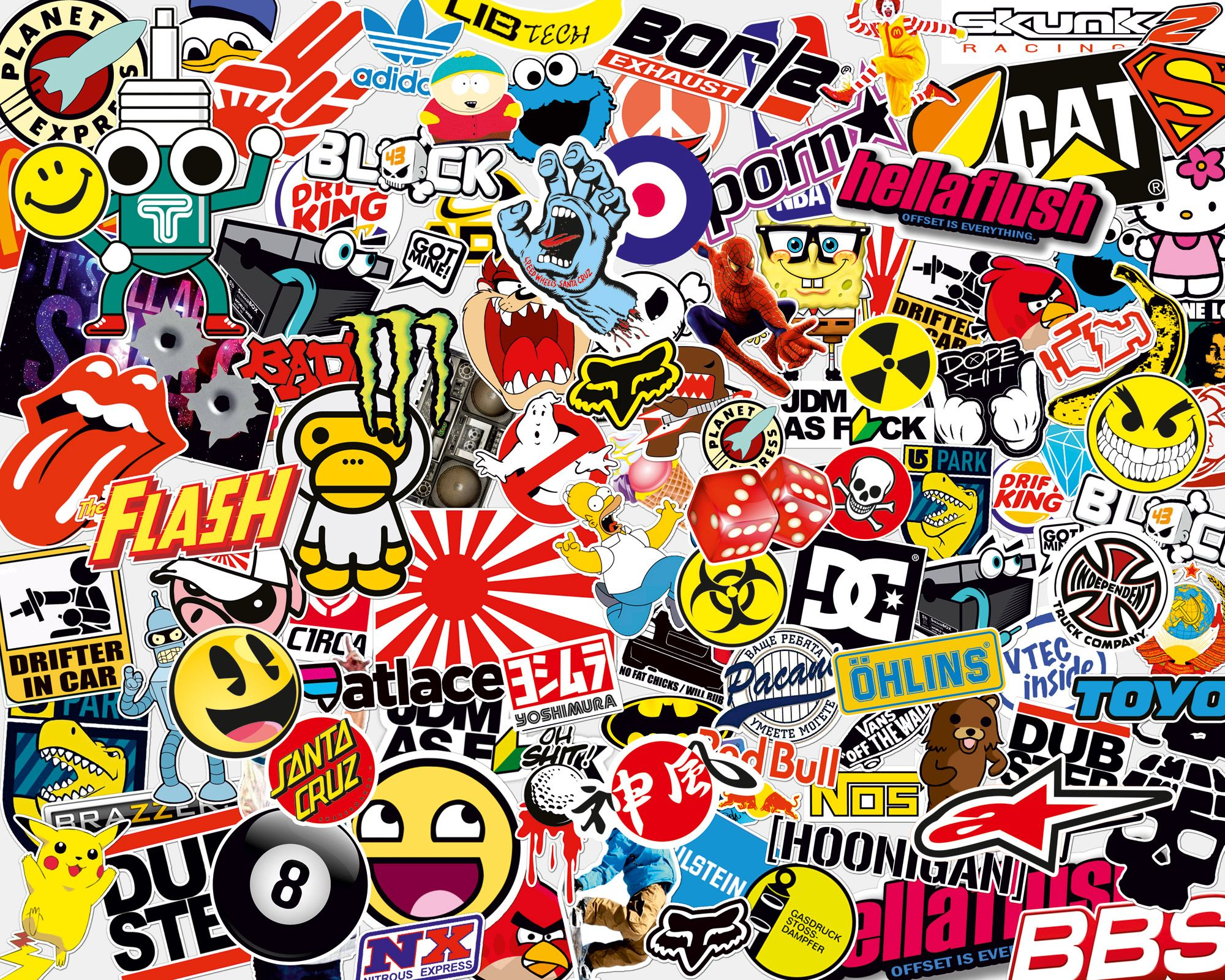 Pegatinas Sticker Bomb igor Pinterest