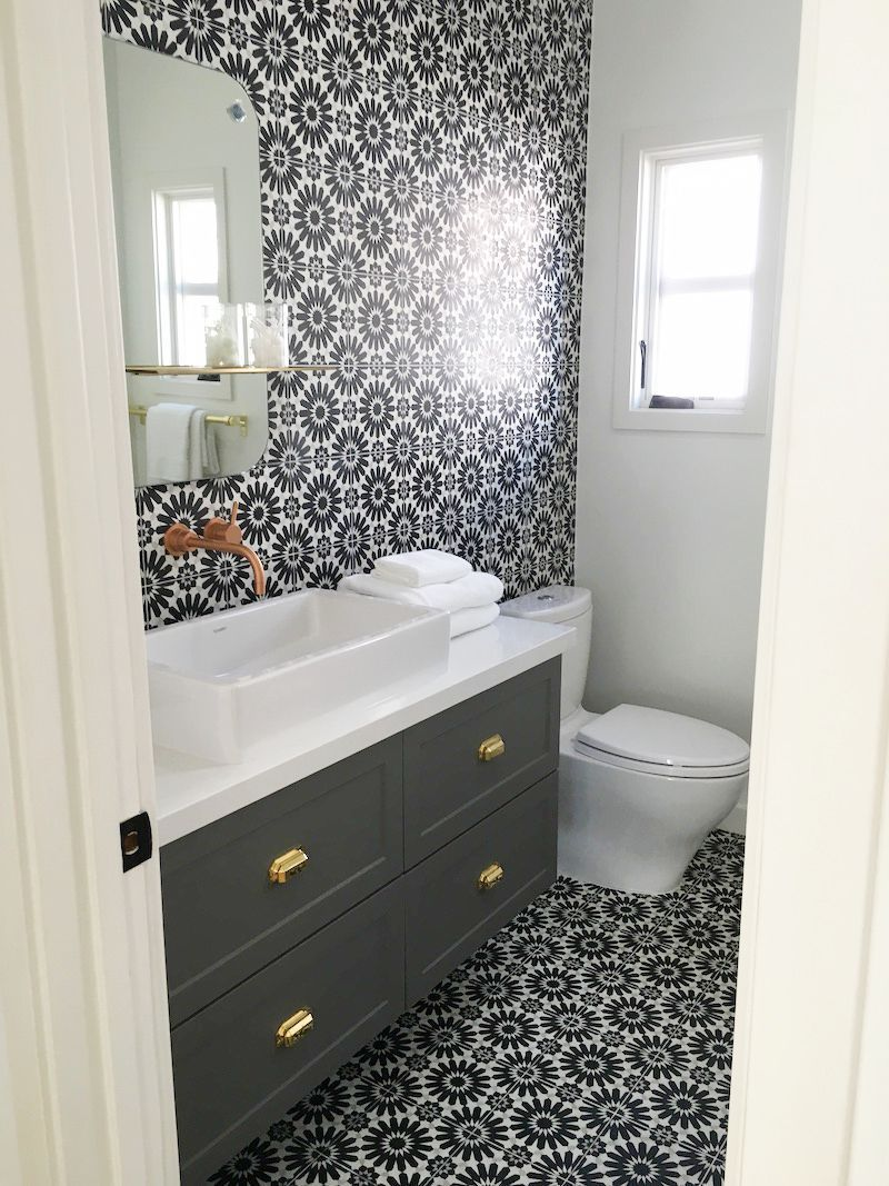 Black and White Cement Tile Bathroom Cement Tiles Bathroom