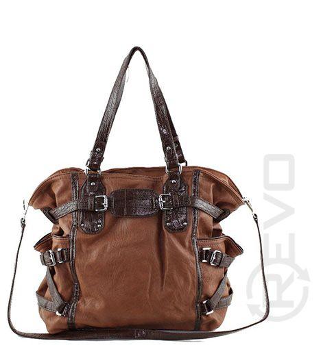 two toned brown handbag ($49.50)