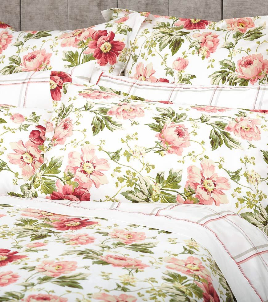 The Bed Linen I Have Chosen Laura Ashley Peony Cranberry Love