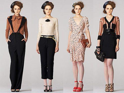 Modern vintage clothing style