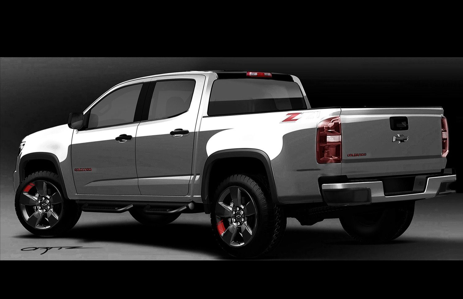2016 Chevy Colorado Red Line Concept Reveal | GM Authority ...