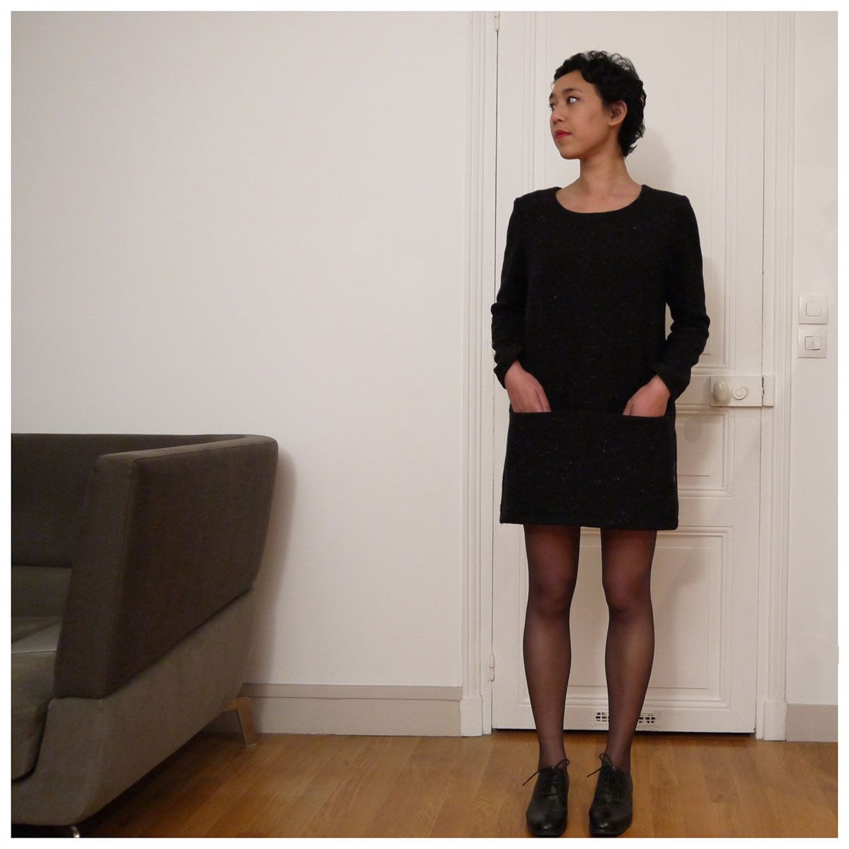 Petite robe facile a porter