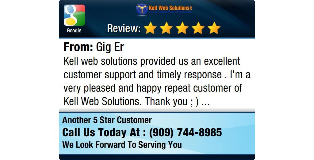 Kell web solutions provided us an excellent customer support and timely response .  I'm a...