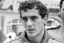 Ayrton Senna - Formula One - A1/A2 Poster Print  #122