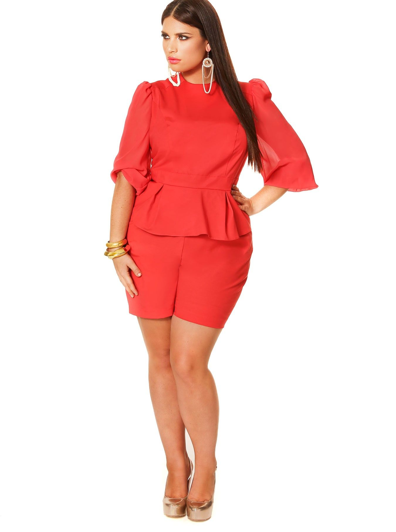 Ium excited about the romper look the cute long ruffles at the