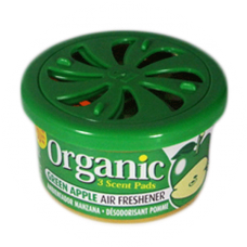 Organic Scent Air Fresheners Green Apple. Just open the