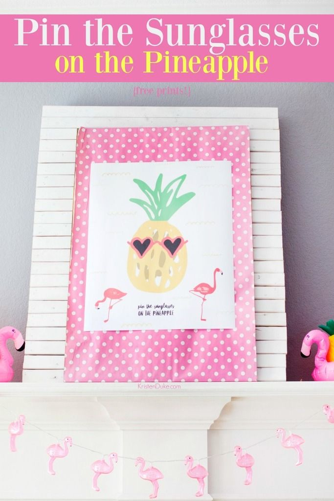 Pineapple party games do it yourself today pinterest party pineapple party games fun summer birthday idea capturing joy solutioingenieria Choice Image