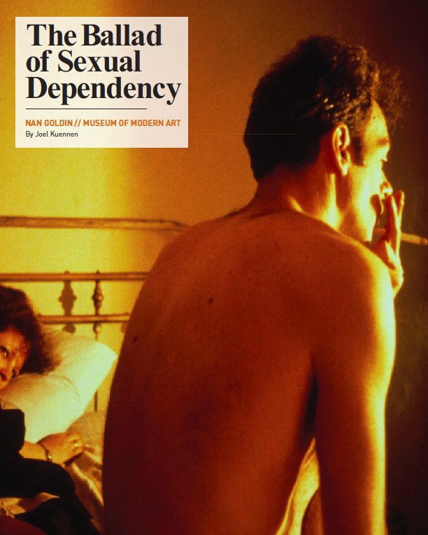 The Ballad Of Sexual Dependency : ballad, sexual, dependency, Inspo