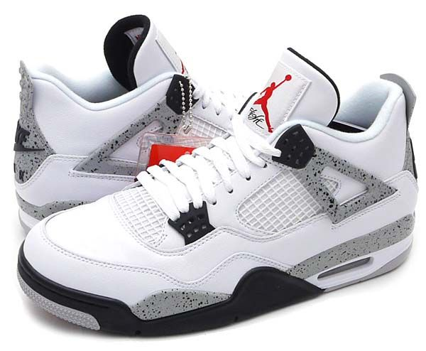 competitive price c8809 40d45 NIKE AIR JORDAN 4 RETRO OG  WHITE   FIRE RED-BLACK-TECH GREY  840606-192
