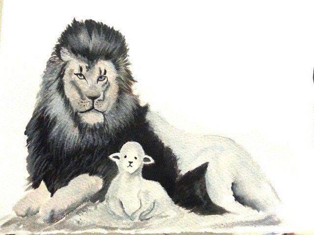 Lion n the lamb