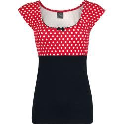 Pussy Deluxe Red Dots Basic T-Shirt Pussy Deluxe #fashionbasics