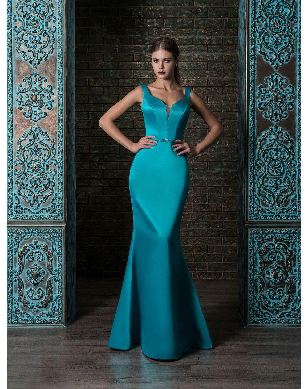 Nádherné saténové šaty strihu morská panna podčiarknu dokonalú postavu  nositeľky. K šatám patrí neoddeliteľne hlboký edad204218e