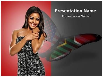 African american beauty powerpoint template is one of the best african american beauty powerpoint template is one of the best powerpoint templates by editabletemplates toneelgroepblik Gallery