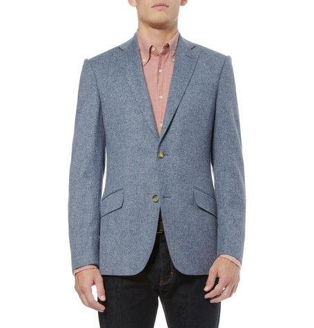 Richard JamesDonegal Wool-Blend Tweed Blazer