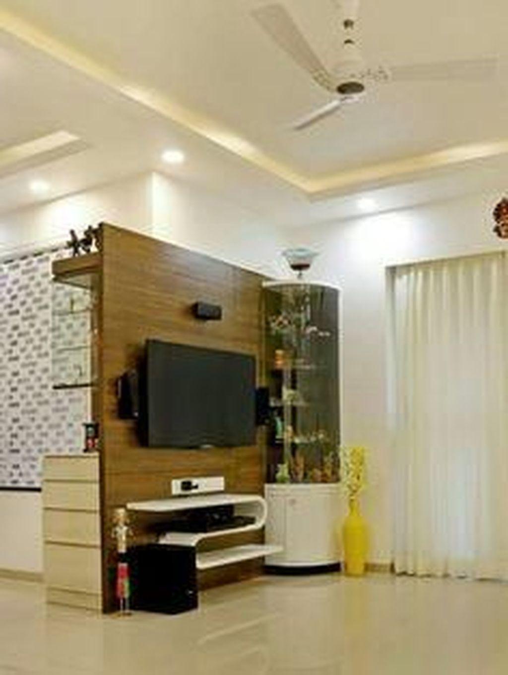 32 Stunning Simply Wall Decor Ideas To Make It Look Minimalist In 2021 Modern Tv Wall Units Tv Unit Furniture Tv Unit Furniture Design