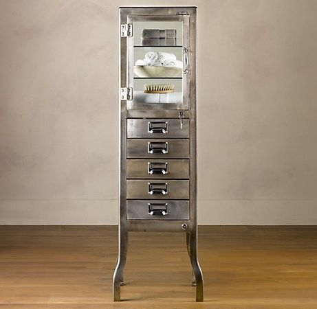 Metal Bathroom Cabinet Bath Cabinets Medical Cabinet Vintage Medical Cabinet