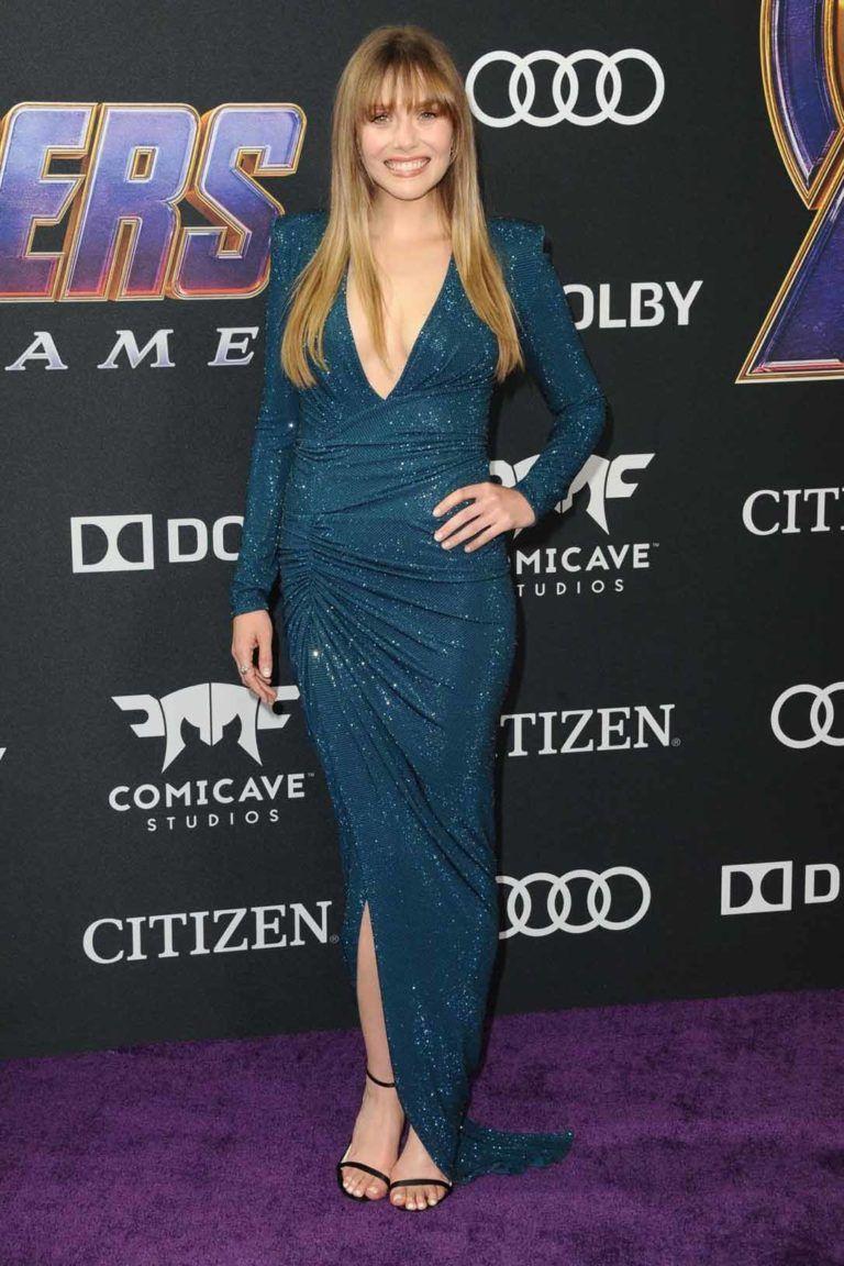 Elizabeth Olsen Attends Avengers Endgame Premiere Los Angeles Celebvegas Elizabeth Olsen Elizabeth Olsen Style Elizabeth Olsen Scarlet Witch