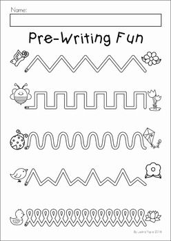 Spring Preschool Worksheets Activities Distance Learning With