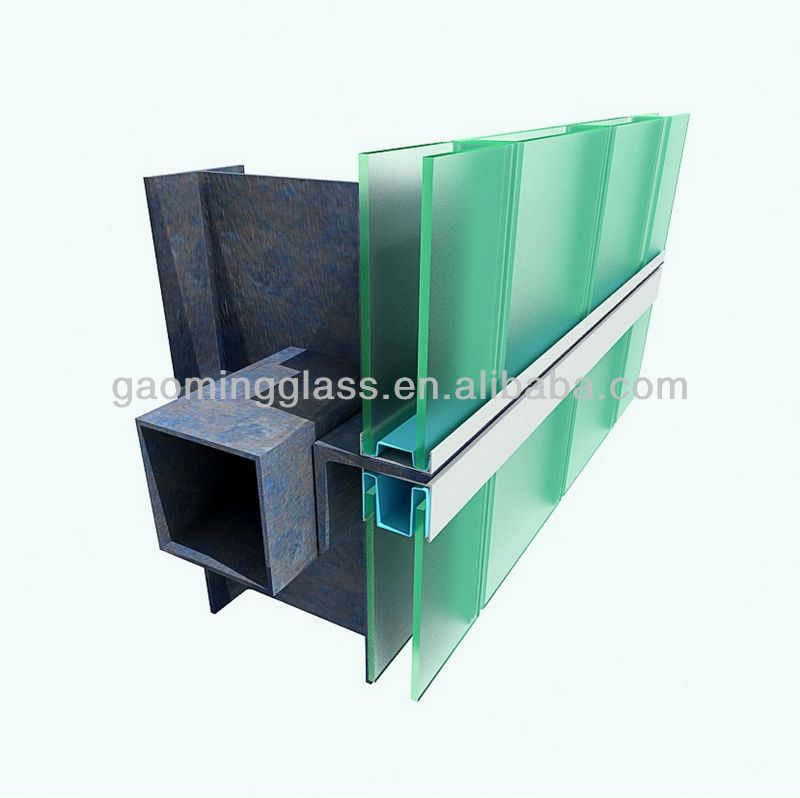 U Channel Glass For Glass Partition Wall Chinese Manufacturer With
