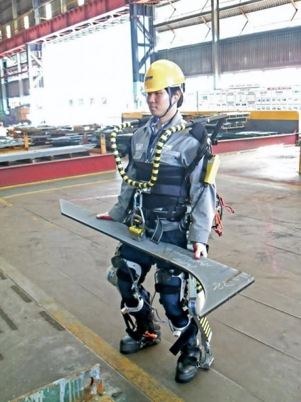 Exoesqueletos Para Convertir Obreros En Súper Hombres