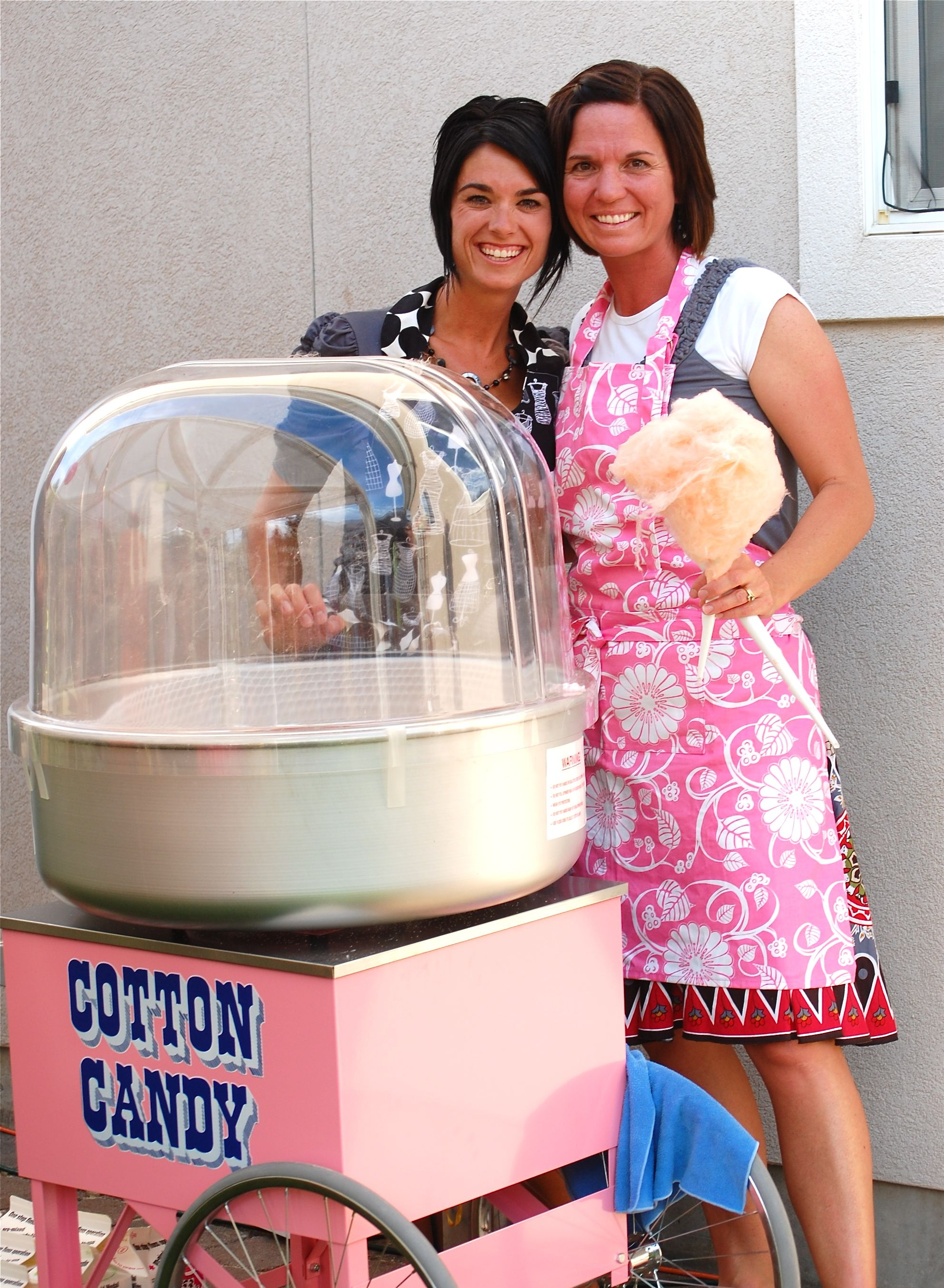 Cotton candy machine its the same one from my candy store