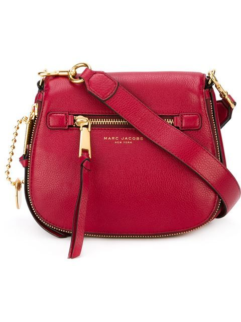 Marc Jacobs Small Recruit Saddle Bag Marcjacobs Bags Shoulder Leather