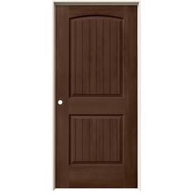 Jeld wen woodview milk chocolate panel round top plank single prehung interior door also white hollow core rh br pinterest