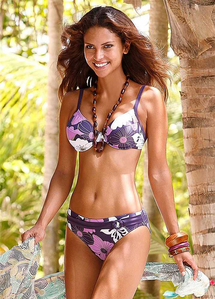 b9db5499024b6 LASCANA Purple Underwired Bikini