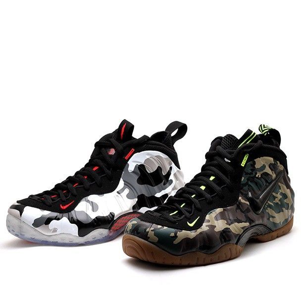 best sneakers ab927 8e397 Nike Air Foamposite One PRM   Nike Air Foamposite Pro PRM LE