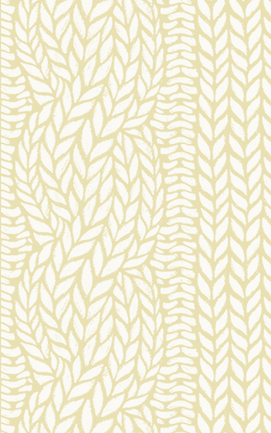 Wallpaper Love Hygge Cooperative Highland Cable Oatmeal