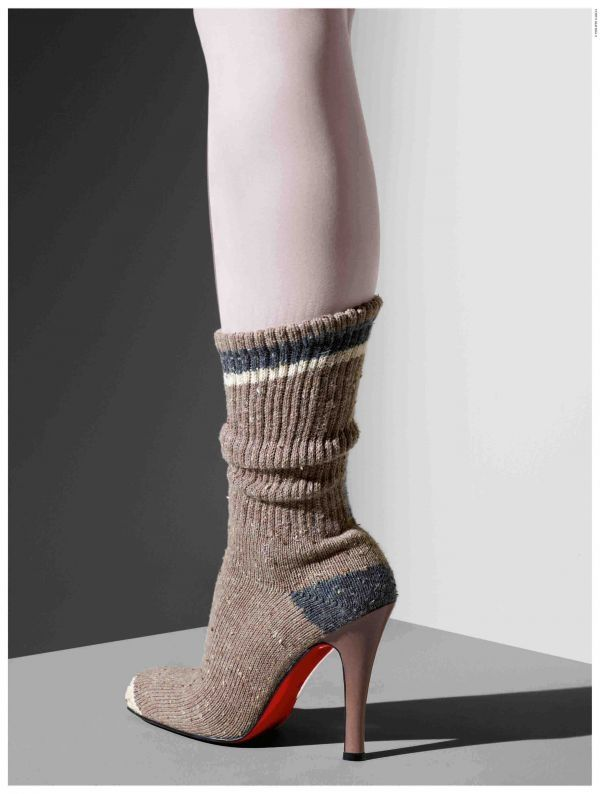 a188a351367 Sock shoes: cozy or crazy? | Shoes...just because | Sock shoes ...