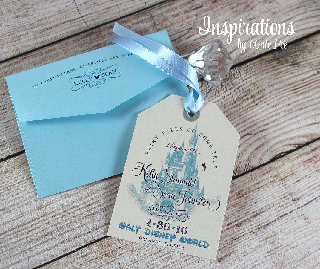 DISNEY SAVE THE DATES Inspirations by Amie Lee