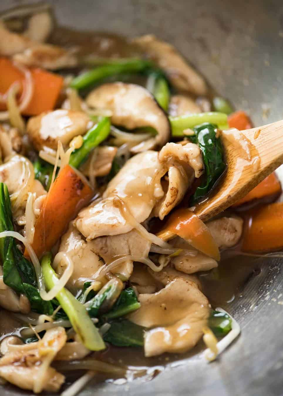 Chop Suey Chicken Stir Fry Recipe Chinese Cooking Chinese Chicken Stir Fry Recipetin Eats