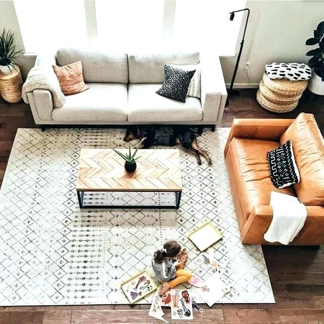 living room rug placement area rug furniture placement best ...