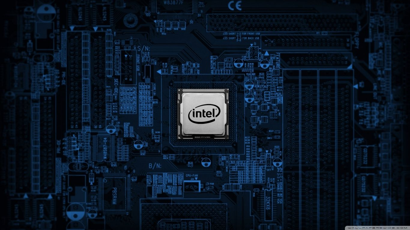 Intel Motherboard Hd Desktop Wallpaper High Definition All