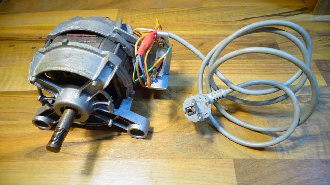 How To Wiring Universal Washing Machine Motor Struja How To Wiring Universal Washing Machine Motor How To W Waschmaschinenmotor Elektromotor Waschmaschine
