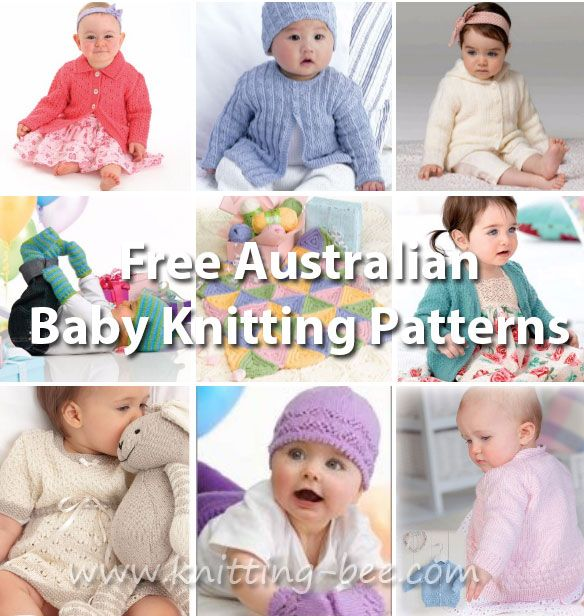 Baby Knitting Patterns Free Australia | Knitting patterns free ...