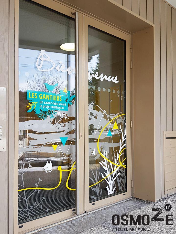 Décoration Murale Foyer Hébergement>Foyer Sud Isère>Sas Entrée