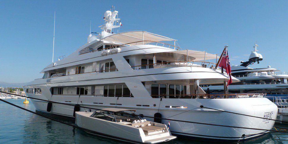 Inside bruce shermans 70000000 majestic yacht yacht