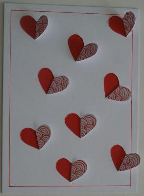Leuke Harten Valentijn Decoratie Knutselen Knutselen Hartjes Valentijnideeen