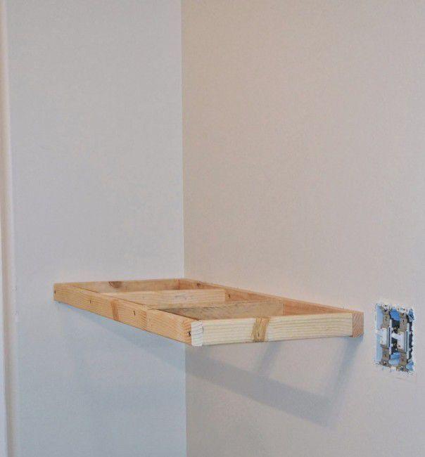 Como hacer estantes flotantes | Manos a la obra | Pinterest | Como ...