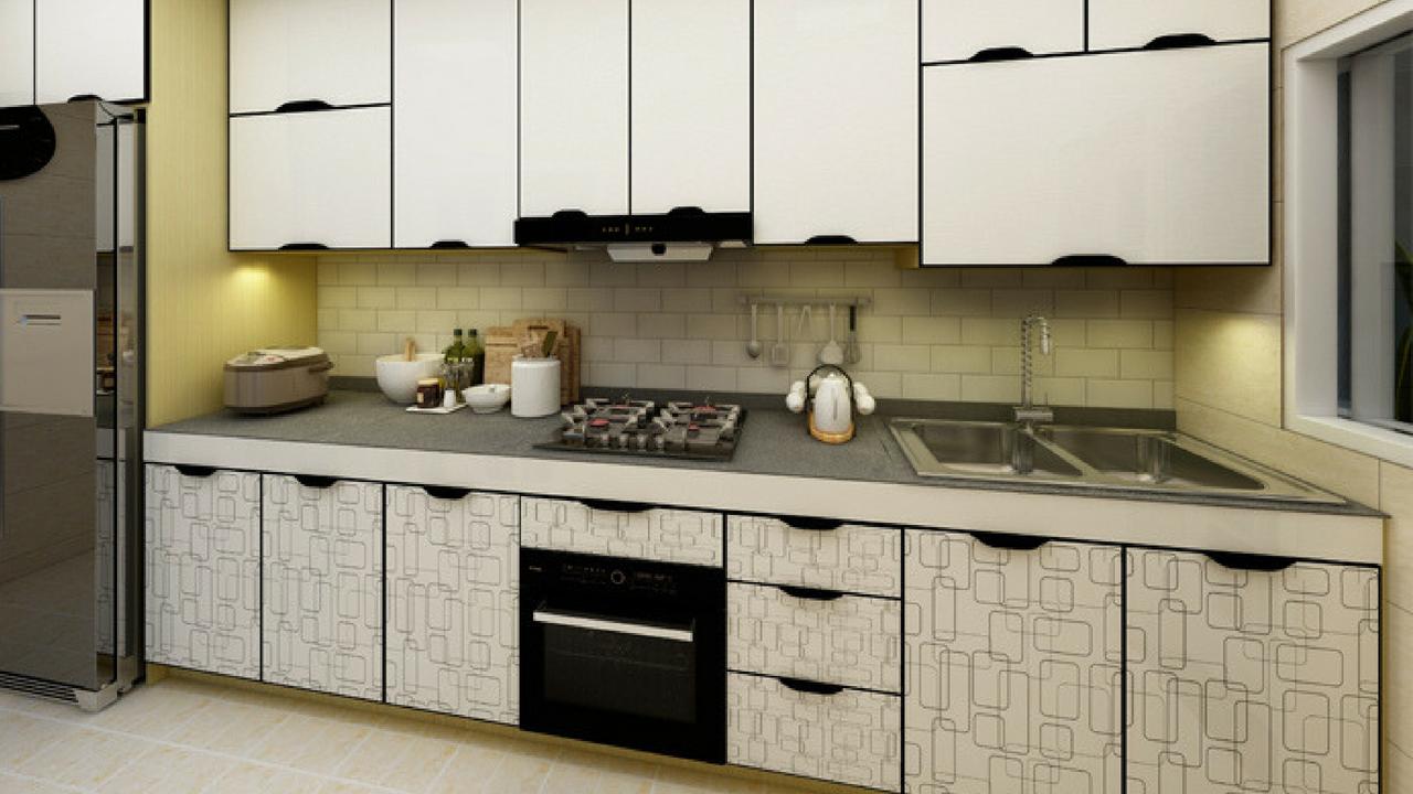 Aluminium Kitchen Cabinet  Singapore Contractor  Wood